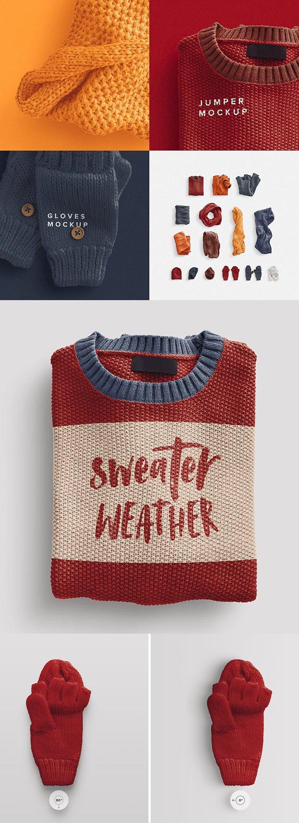 Clothing Jumper Winter Scene