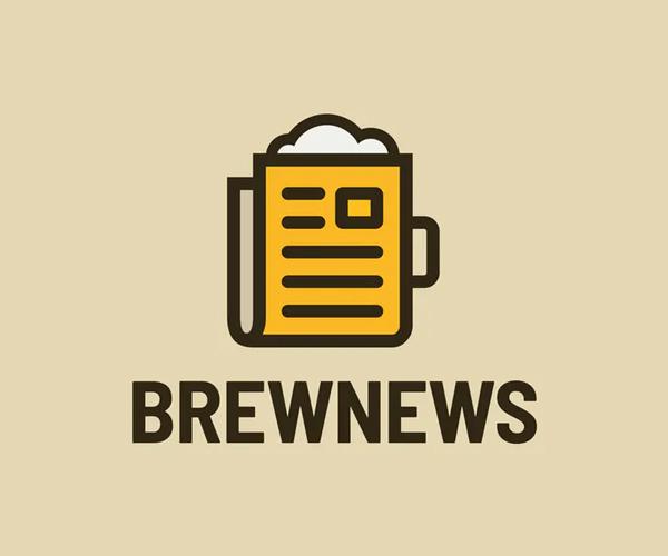 Brew News Logo Template