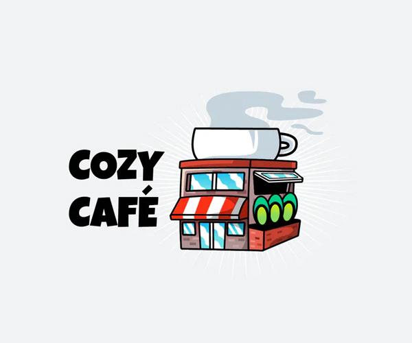 Cozy Cafe Logo Design