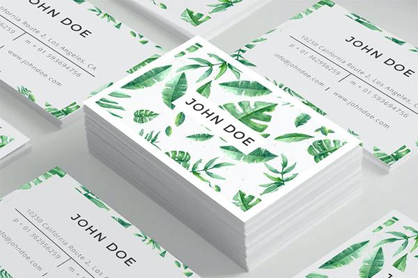 Simple Creative Business Card Design