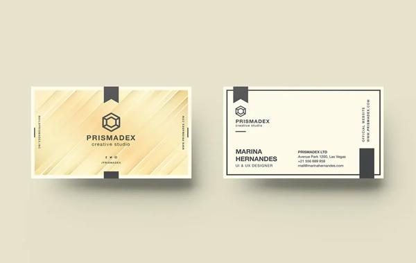 Fresh Business Card Design