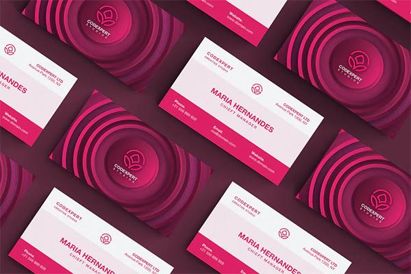 Modern Concept Business Card Design