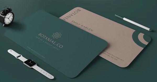 Botanial Card - Business Card Design