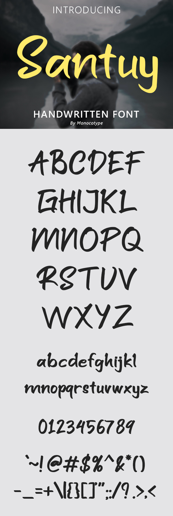 Santuy Handwritten Free Font