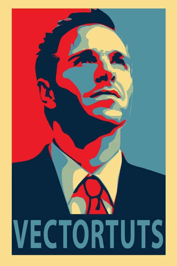 How to Create an Inspirational Vector Political Poster