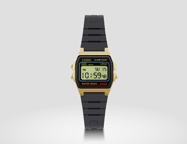 Create a Casio Watch in Adobe