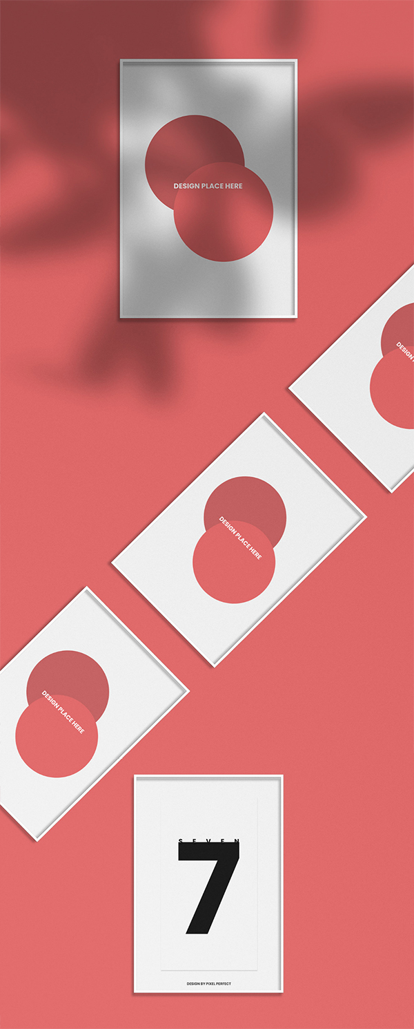 Minimalistic Poster Moukup Scene
