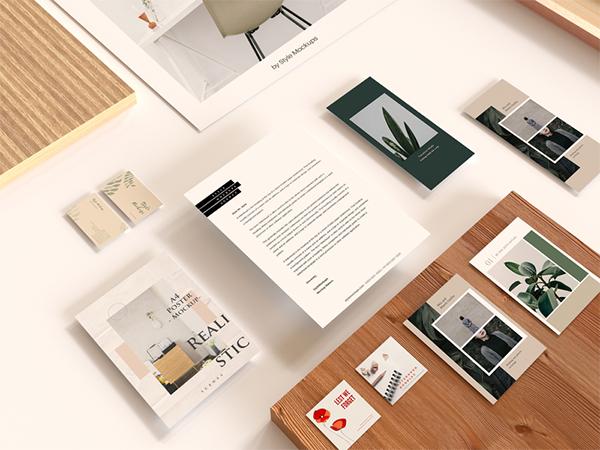 Brand-Paper Free PSD Mockup