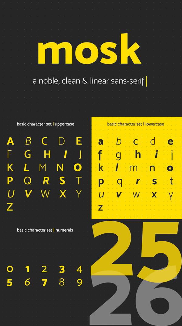 Clean Sans Serif Free Font