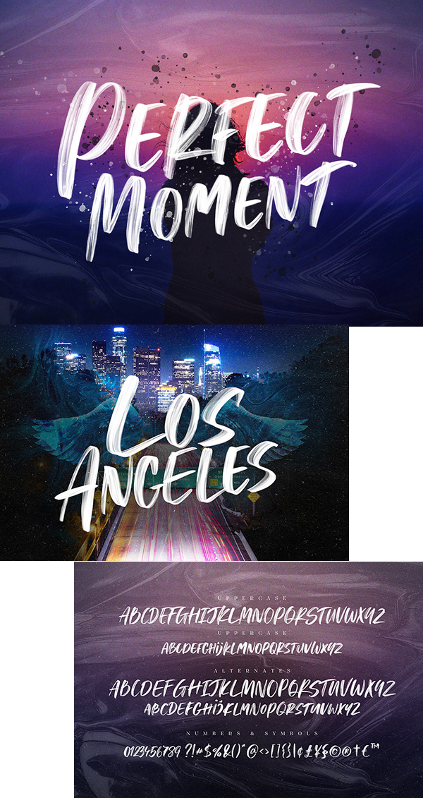 Perfect Moment Free Font