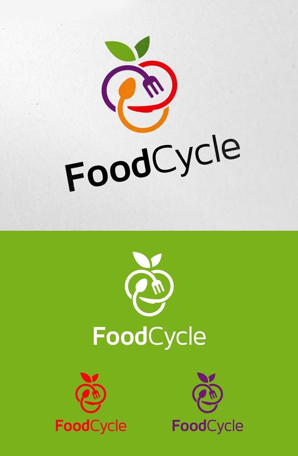 Food Cycle Logo Design