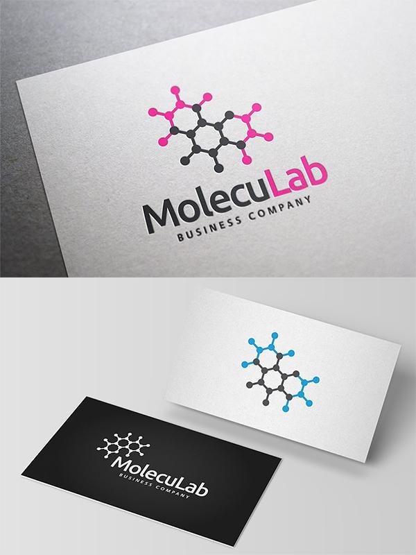 Moleculab Logo Design