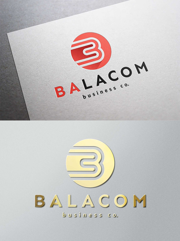 Balacom Logo - Letter B Monogram