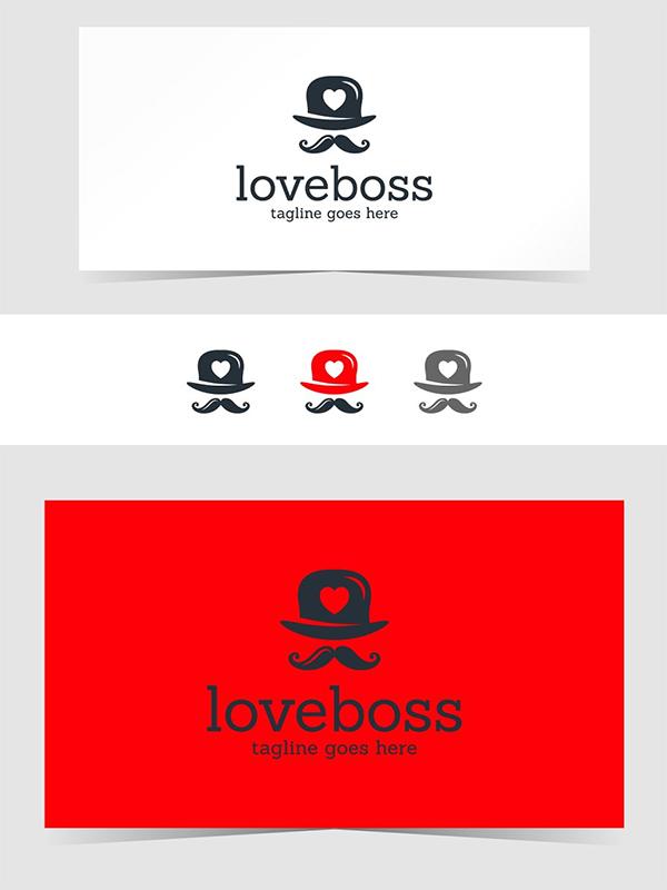 Love Boss Logo Design