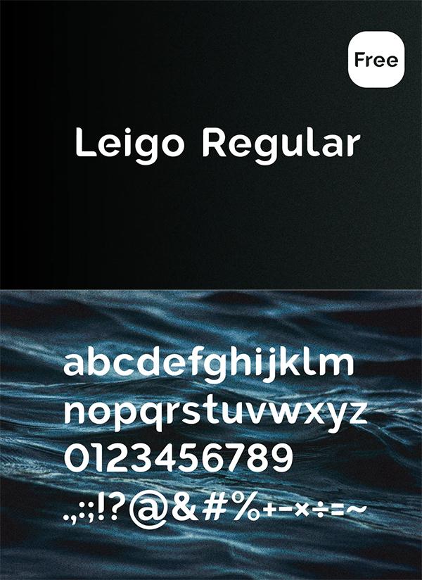 Leigo Regular - Free Font