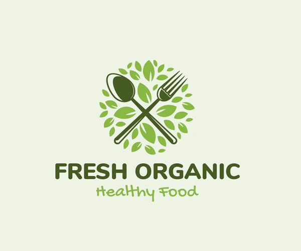 Fresh Organic Logo Template