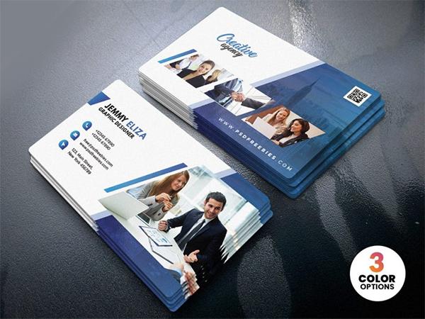 Creative Clean Business Card Design