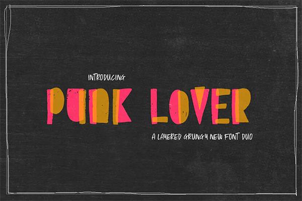 Punk Lover Font