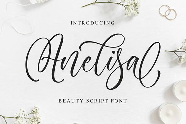 Anelisa Beauty Script Font
