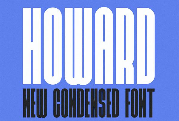 Howard - Ultra Condensed Font