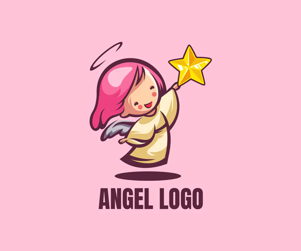 Angel Logo Design