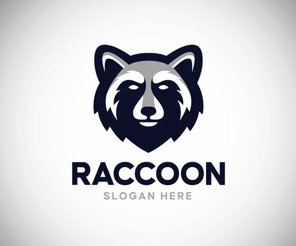 Raccoon Logo Design