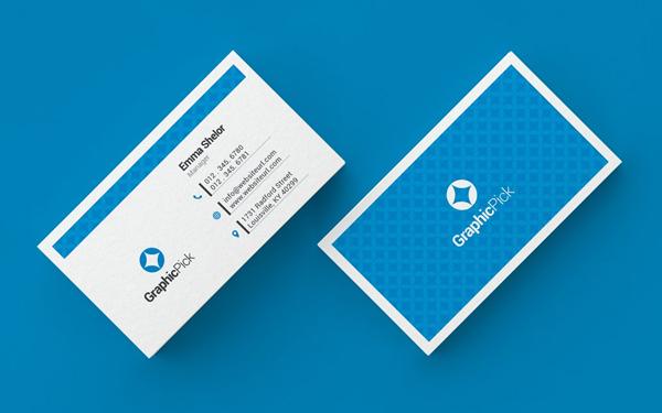 Simpe Clean Business Card Design