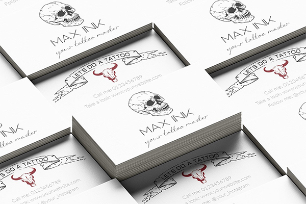 Tattoo Master's Business Card