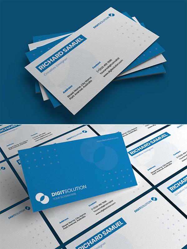 Digitsolution - Business Card Template
