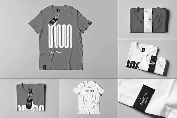 Attractive T-Shirt Mock-up