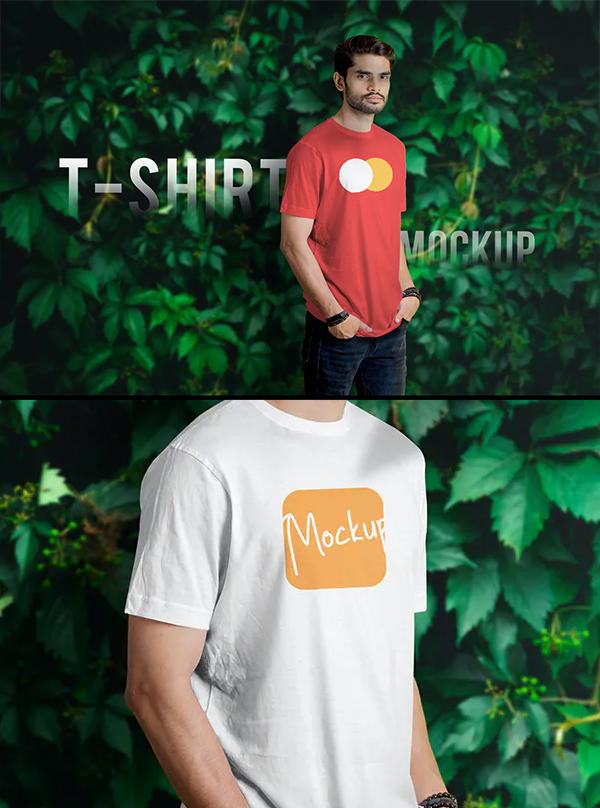 Awesome T-Shirt Mockup