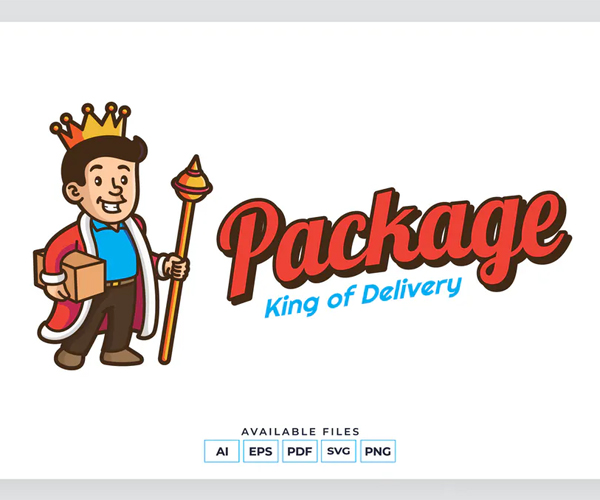 Package Delivery Logo Template