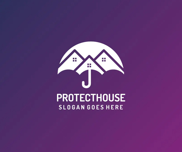 House Protection Logo Template
