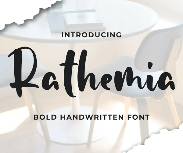 popular_hand_picked_font