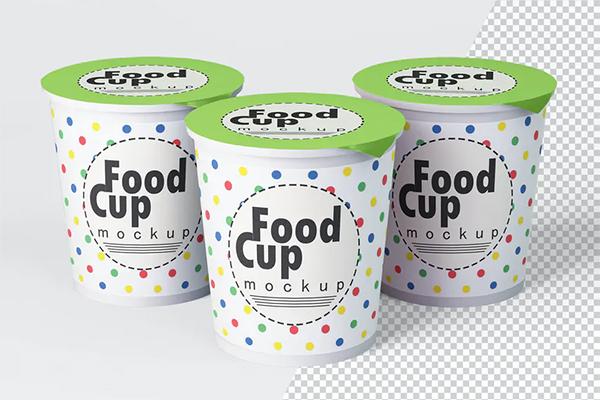 Food Cup - Mockup