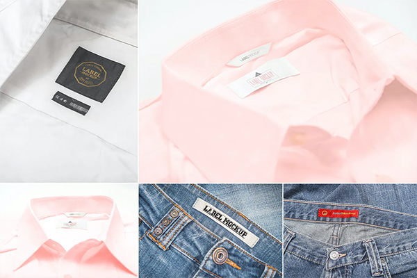 Apparel Inner Label Mockups