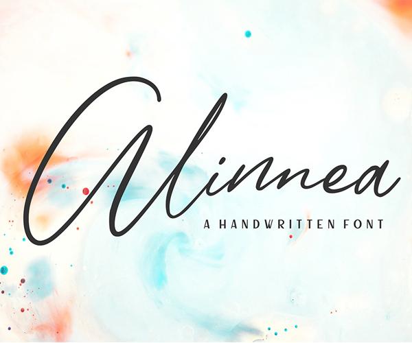 Alinnea Handwritten Free Font