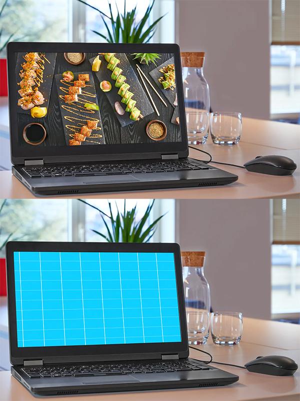 PC Laptop Mockup