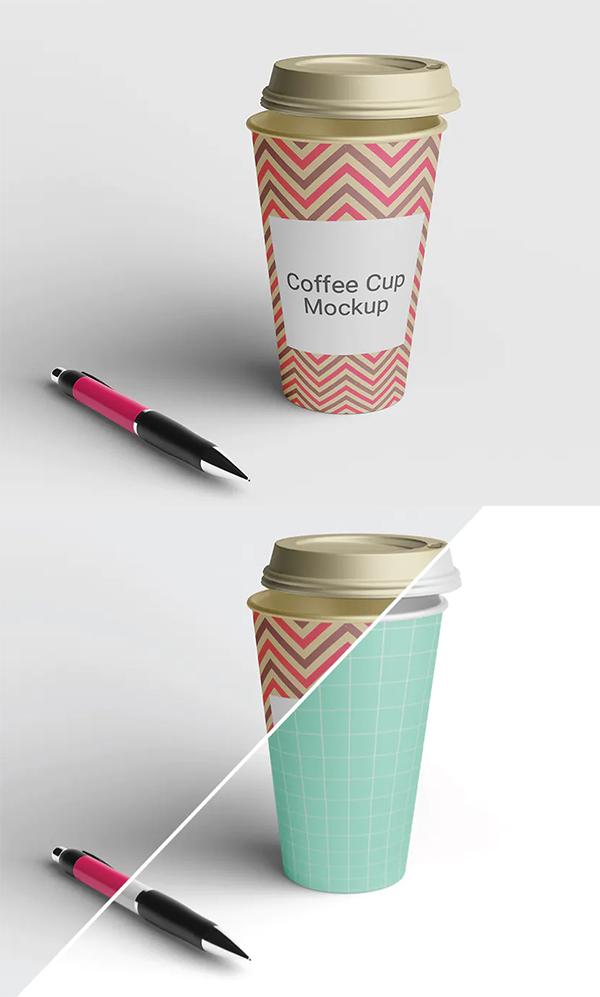 Cup Coffee Mockup