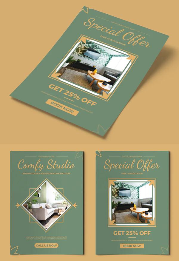 Interior Studio Flyer