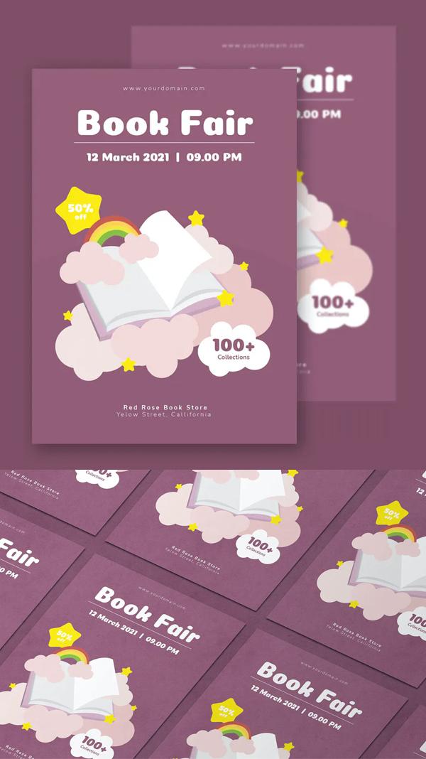 Book Fair - Flyer Design