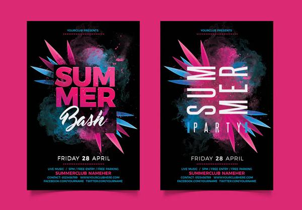 Awesome Summer Bash Flyer