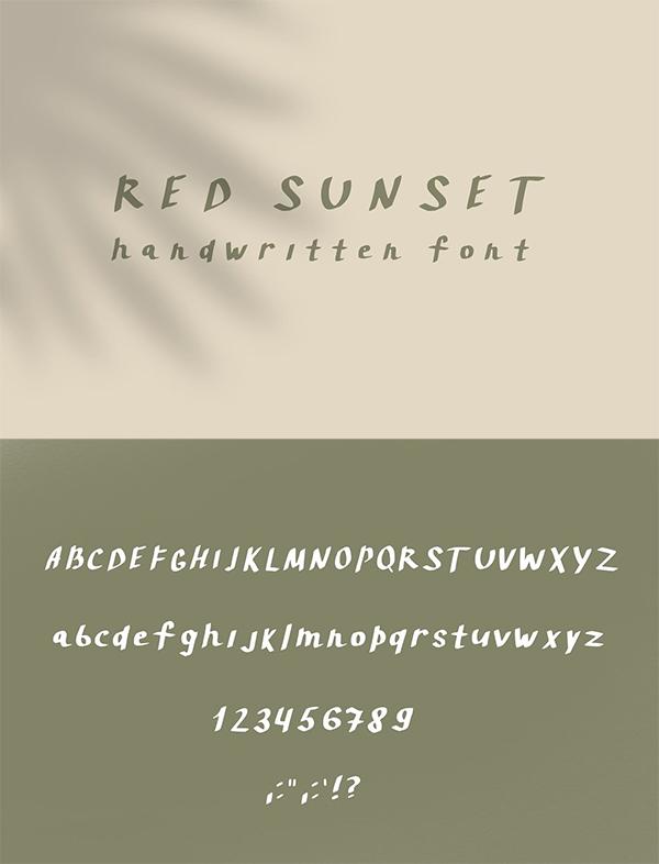 Creative Handwritten Script Font