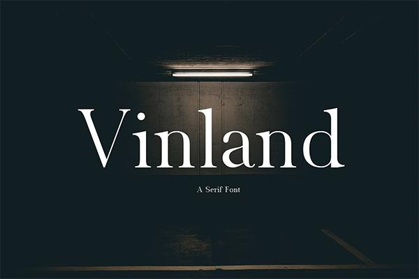Vinland Serif Font