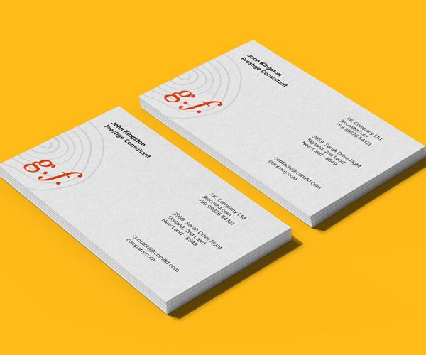 Business Cards Mockup