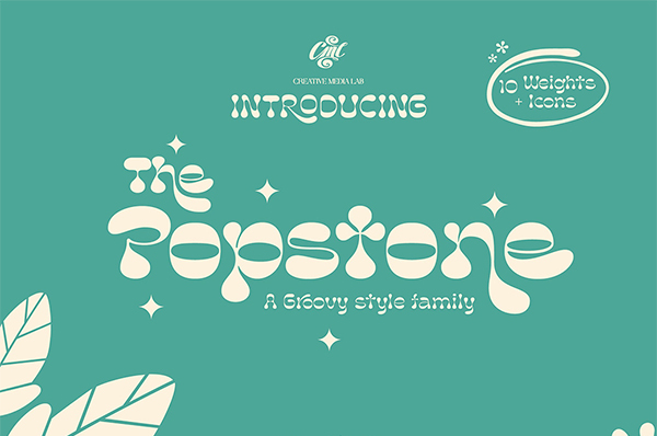 Popstone Display Free Font