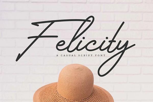 Felicity Handwritten Free Font