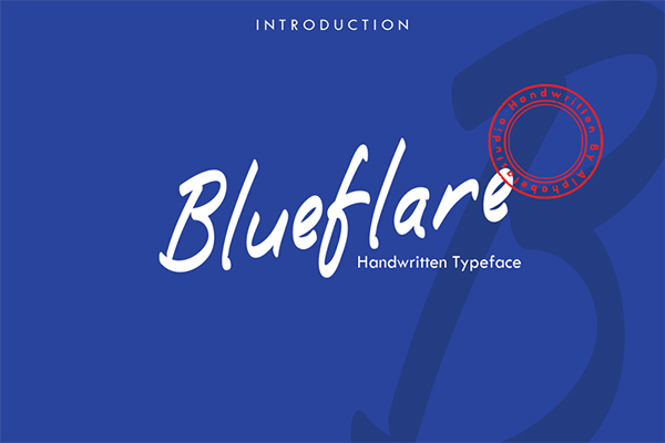 Blueflare Free Font