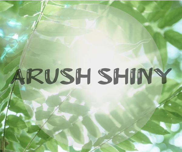 Arush Shiny Free Font