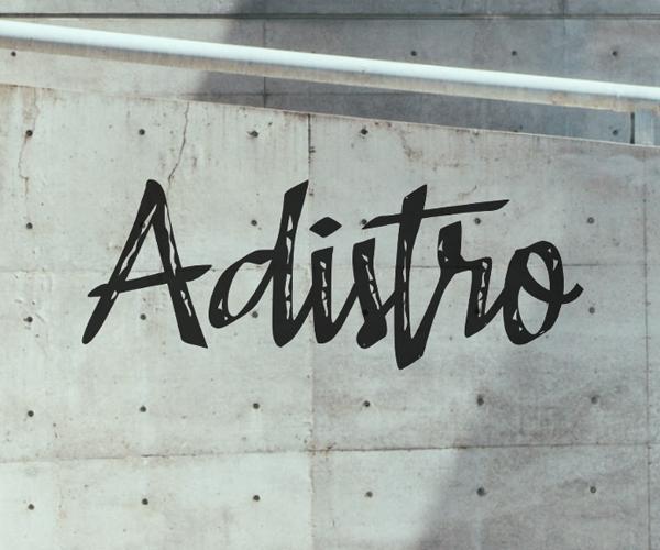 Awesome Adistro Free Font